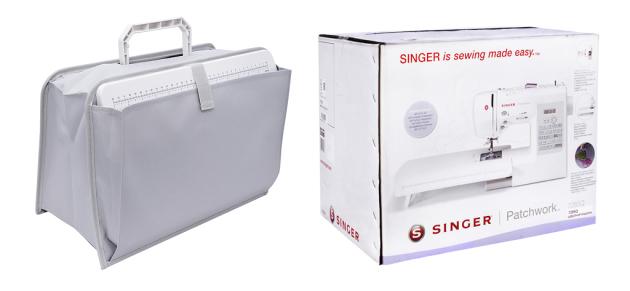 SINGER PATCHWORK 7285Q SINGER PATCHWORK 7285Q фото №10