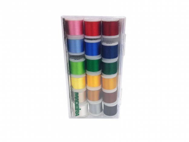 Набор вышивальных ниток Rayon (200м) (18 шт.) 8040 фото №3