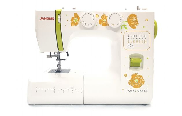 JANOME EXCELLENT STITCH 15A JANOME Excellent Stitch 15A  фото №1