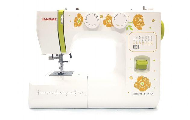 JANOME Excellent Stitch 15A электромеханическая швейная машина JANOME Excellent Stitch 15A  фото №1