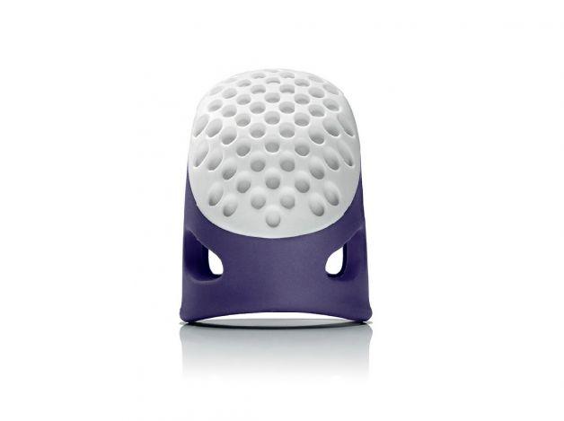 Наперсток эргономичный, размер 16мм (М) (фиолетовый) 431141 фото №1
