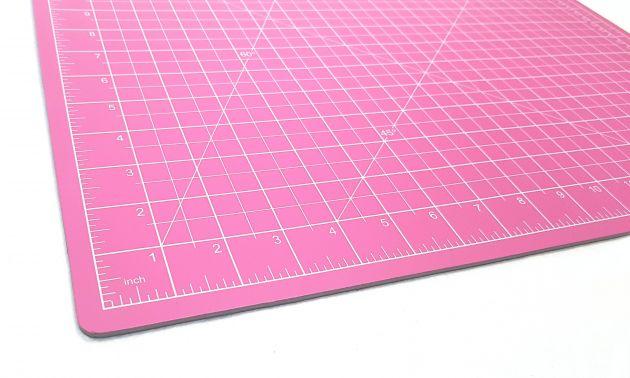 Коврик для раскройных ножей, двухсторонний, двухцветный (30x45см)  DW-12123 (AC) фото №5