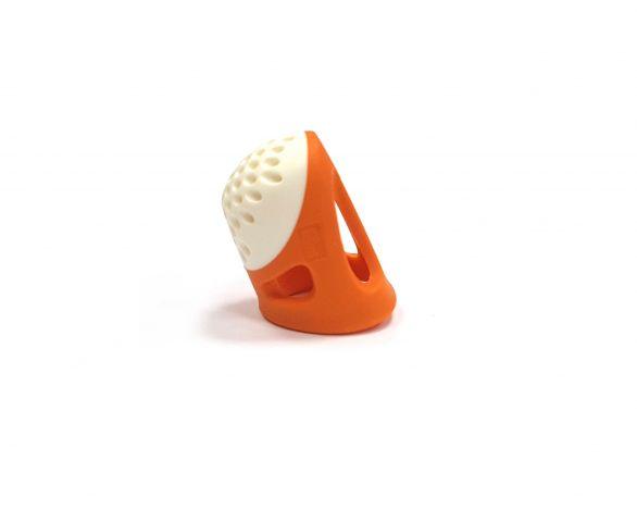 Наперсток эргономичный, размер 15мм (S) (оранжевый цвет)  Prym 431140 фото №2