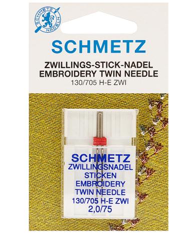Голка Twin Embroidery №75/2,0 70551 фото №1
