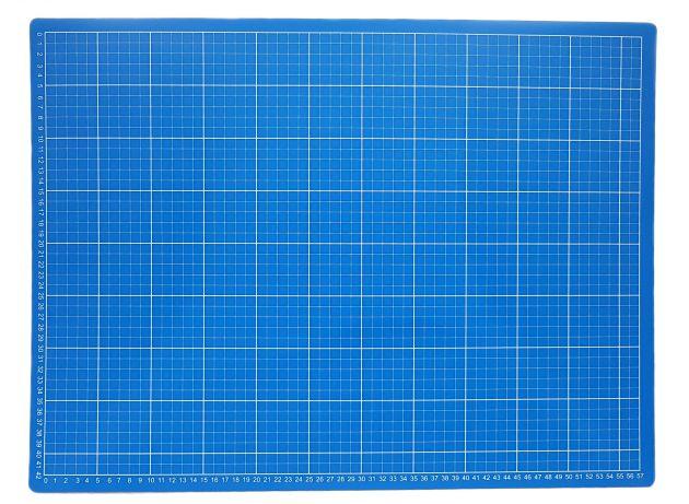 Коврик для раскройных ножей, двухсторонний, двухцветный (45x60см)  DW-12122 (AC) фото №2