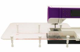 Удлинительный прозрачный стол