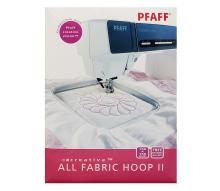 Мульти-пяльцы Pfaff All Fabric Hoop (150*150 мм) + 3 дизайна (Арт. 820889096)