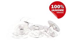 Шпулька прозрачная пластиковая (20,5*11,7 мм)