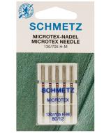 Иглы Microtex №80 (5 шт.)