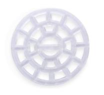 Декоративные пуговицы, прозрачные (22 мм)