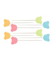 Булавки с головками 'Мишка', средние (0,60х48,4 мм) NS113 фото №3