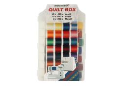 """Двойной набор швейных ниток """"Quilt Box"""" Aerofil (63 шт.)"""