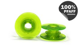 Шпулька пластиковая (зеленый) (20,2*8,2 мм)