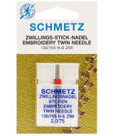 Голка Twin Embroidery №75/2,0 70551 фото №3