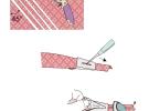 Устройство для косых беек, пластик (25 мм) BTM-25 фото №2