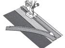 Лапка для потайной молнии (металлическая) 200333001 фото №3