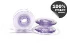 Шпулька пластиковая (светлый фиолетовый) (20,2*8,2 мм) 820921096 фото №1