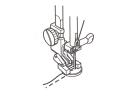 Лапка для пришивания пуговиц без ножки 200136002 фото №3