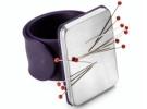 Магнитная игольница на руку (фиолетовая) 610282 фото №1