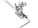 Лапка для отстрочки по краю с припуском 1/4 (6 мм) 200318000 фото №4
