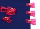 Набор зажимов для работы с тканями (12 шт.) DW-QC02(12) фото №2