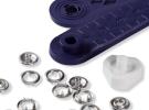 Кнопки «Джерси», серебристые (8 мм) 390100 фото №3