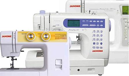 Какие бывают швейные машинки?