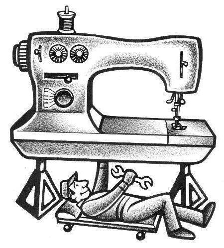 Как очистить швейную машинку в домашних условиях