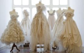 Основные виды тканей для свадебных платьев